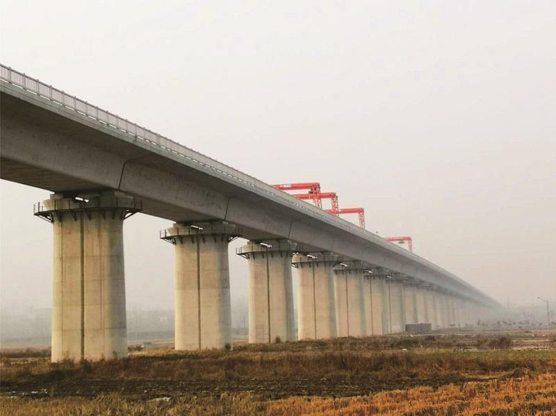 金环实业-工程业绩-汉十高铁工程
